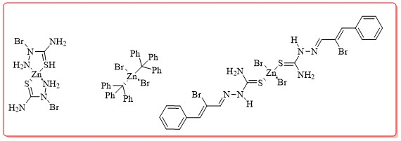 Preparation and Crystal Structure Determination of Zinc (II) Bromide Complexes at the Presence of Various Ligands