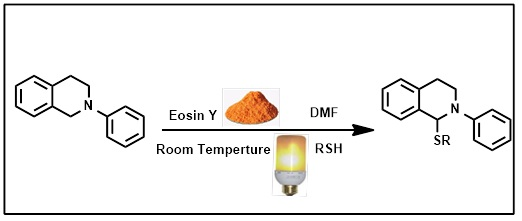 Metal Free Synthesis of Organosulfur Compounds Employing Eosin Y as Photoredox Catalyst