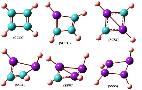 Prediction of the Structural and Spectral Properties and Reactivity of the Silicon Analogs of Cyclobutadiene C4-nSinH4 (n=0-4) by Density Functional Theory Computations