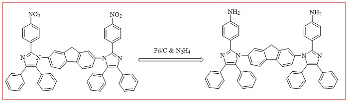 Synthesis and Characterization of New Diamine Based on Fluorine