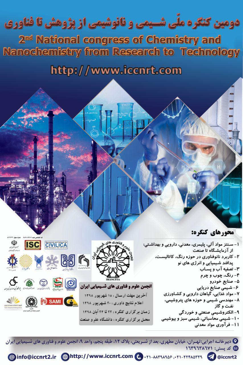 2nd national Congress of the chemistry and nanochemistry from research to technology